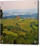 Tuscan Landscape Acrylic Print