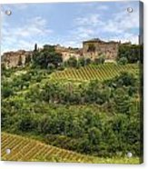 Tuscany - Castelnuovo Dell'abate Acrylic Print