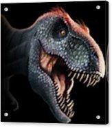 Tyrannosaurus Rex Head Acrylic Print
