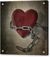 Unchain My Heart Acrylic Print