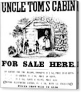 Uncle Tom's Cabin, C1860 Acrylic Print
