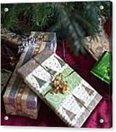Under The Christmas Tree Acrylic Print
