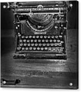 Underwood Typewriter Acrylic Print