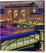 Union Station Acrylic Print by Don Wolf