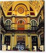Union Station Lobby Larger Size Acrylic Print