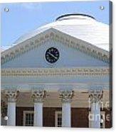 University Of Virginia Rotunda Acrylic Print