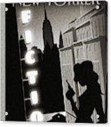 New Yorker June 10th, 2013 Acrylic Print