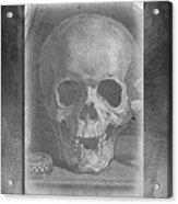 Untitled Skull Acrylic Print