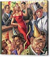 New Yorker December 25th, 2006 Acrylic Print