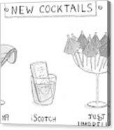 New Cocktails Acrylic Print