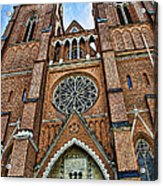 Uppsala Cathedral - Sweden Acrylic Print