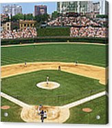 Usa, Illinois, Chicago, Cubs, Baseball Acrylic Print
