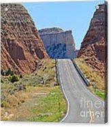 Utah Highway Acrylic Print