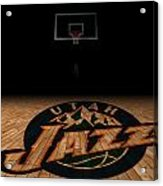 Utah Jazz Acrylic Print by Joe Hamilton