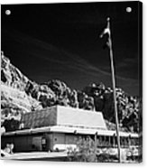 Valley Of Fire State Park Visitors Center Nevada Usa Acrylic Print