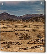 Valley Of The Names Acrylic Print by Robert Bales