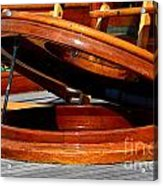 Vancouver Bc Classic Boats Acrylic Print