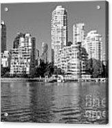 Vancouver Bc Downtown Skyline Acrylic Print