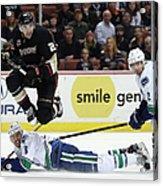 Vancouver Canucks V Anaheim Ducks Acrylic Print