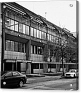 Vancouver Police Department Station 236 Cordova Street Bc Canada Acrylic Print by Joe Fox