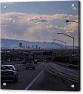 Vegas Cityscape Acrylic Print