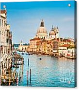 Venice At Sunset Acrylic Print