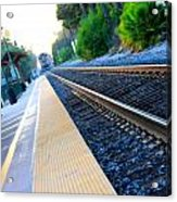 Ventura Train Station Acrylic Print