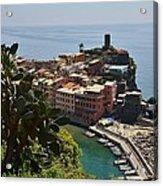 Vernazza - Cinque Terre Acrylic Print
