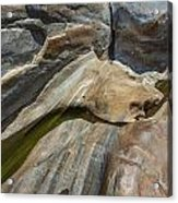 Verzasca River - Rocks  Acrylic Print