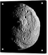Vesta Asteroid Acrylic Print