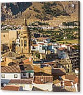 View Of The Town Loja In Granada Province Acrylic Print