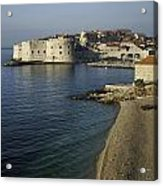 Views Of Dubrovnik Old Town Croatia Acrylic Print