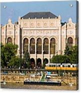 Vigado Concert Hall In Budapest Acrylic Print