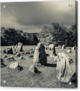Viking Burial Ground, Lindholm Hoje Acrylic Print