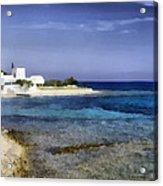 Greek Villa Acrylic Print