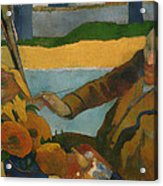 Vincent Van Gogh Painting Sunflowers Acrylic Print