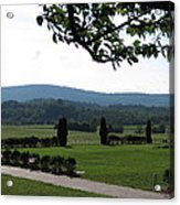 Vineyards In Va - 12123 Acrylic Print