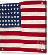 Vintage American Flag Acrylic Print