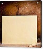 Vintage Envelope Background Acrylic Print