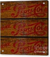 Vintage Pepsi  Acrylic Print