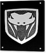 Viper Emblem Acrylic Print
