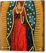 Virgen De Guadalupe - Guadalupe Virgin - Lady Of Guadalupe Acrylic Print