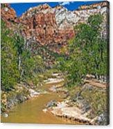 Virgin River Acrylic Print