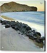 Volcanic Rocks Acrylic Print