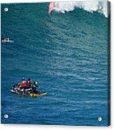 Waimea Bay Takeoff Acrylic Print