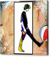 Walking Out Of Picture Frame Acrylic Print