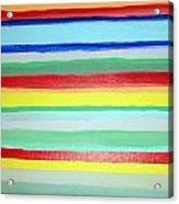 Wall Color Acrylic Print