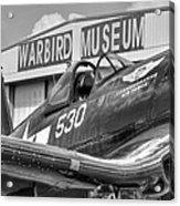 Warbird Museum Acrylic Print