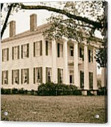 Warren Stone House In Alabama Acrylic Print
