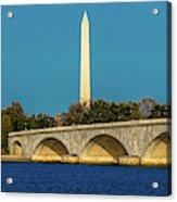Washington D.c. - Memorial Bridge Spans Acrylic Print